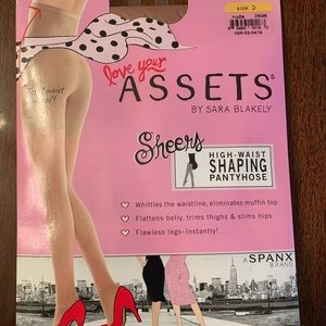SPANX Love your Assets Shaping Pantyhose in Nude